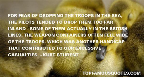 Kurt Student Quotes