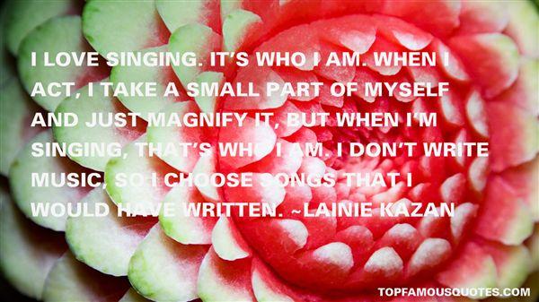Lainie Kazan Quotes
