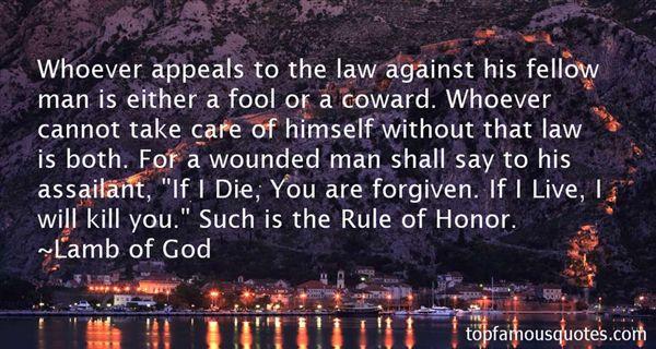 Lamb Of God Quotes