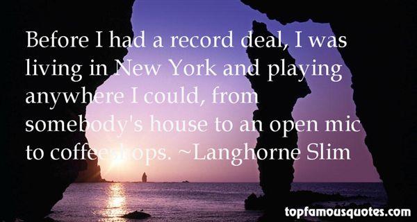 Langhorne Slim Quotes