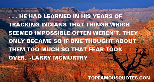 Larry McMurtry Quotes