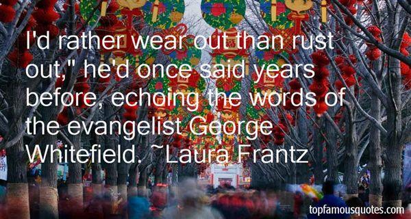 Laura Frantz Quotes