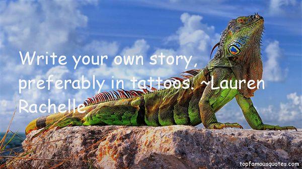 Lauren Rachelle Quotes