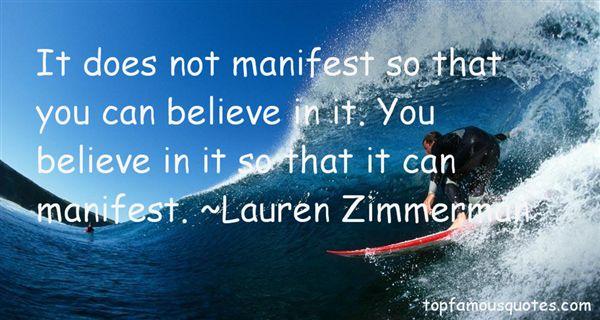 Lauren Zimmerman Quotes