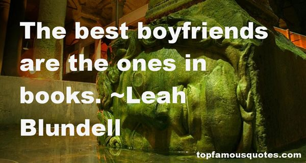 Leah Blundell Quotes