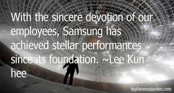 Lee Kun Hee Quotes
