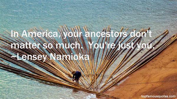 Lensey Namioka Quotes