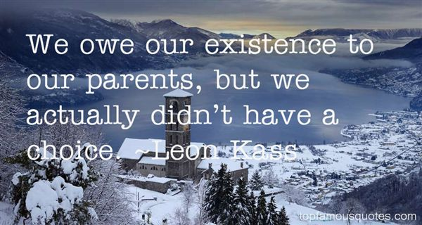Leon Kass Quotes