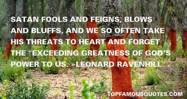 Leonard Ravenhill Quotes