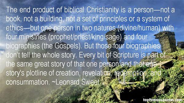 Leonard Sweet Quotes