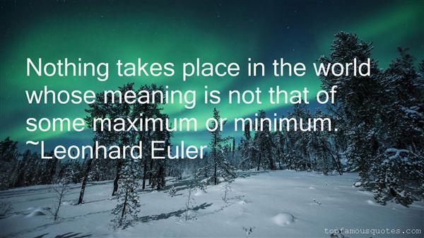 Leonhard Euler Quotes