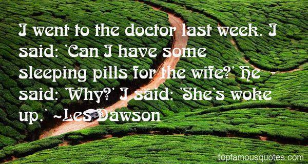 Les Dawson Quotes