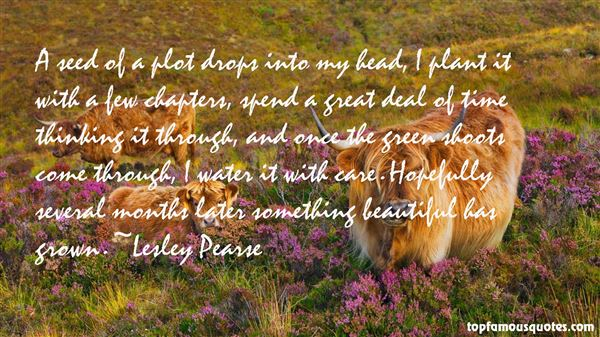 Lesley Pearse Quotes