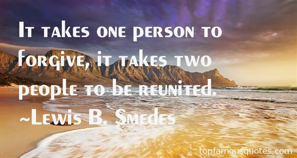 Lewis B. Smedes Quotes