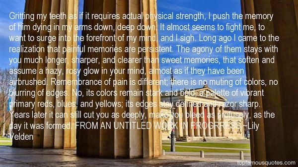 Lily Velden Quotes
