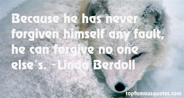 Linda Berdoll Quotes