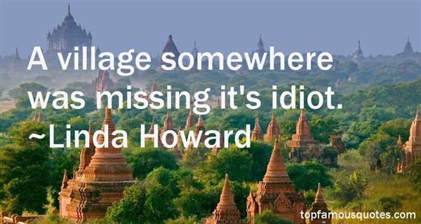 Linda Howard Quotes