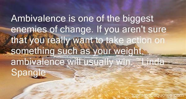 Linda Spangle Quotes