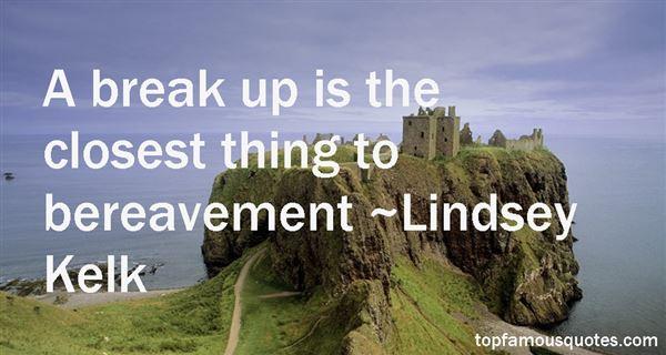 Lindsey Kelk Quotes