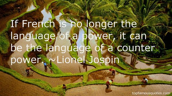 Lionel Jospin Quotes