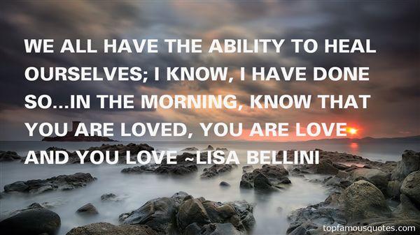 Lisa Bellini Quotes