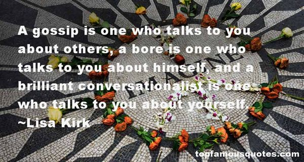 Lisa Kirk Quotes