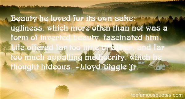 Lloyd Biggle Jr. Quotes