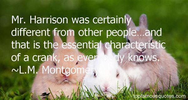 L.M. Montgomery Quotes