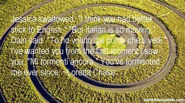 Loretta Chase Quotes