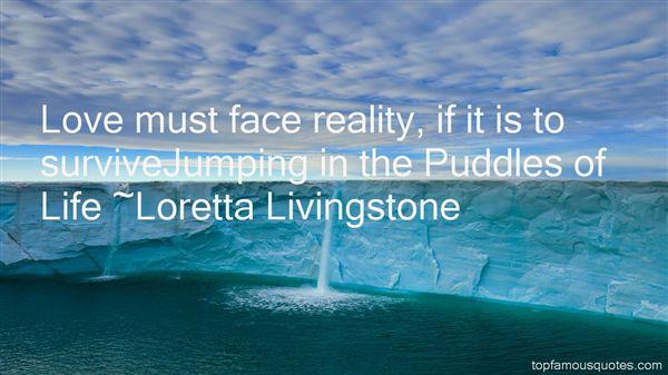 Loretta Livingstone Quotes