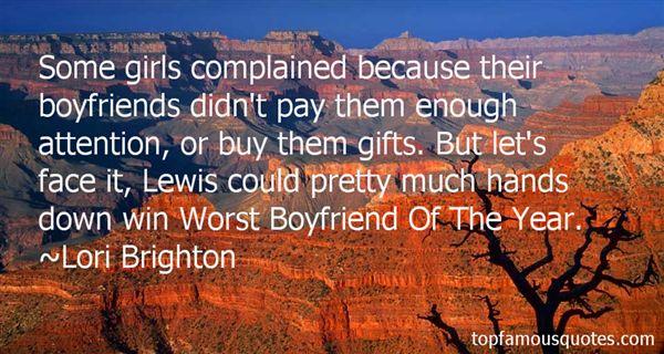 Lori Brighton Quotes