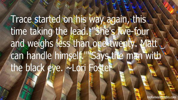Lori Foster Quotes