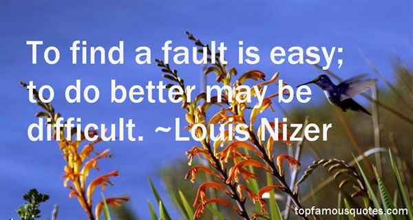 Louis Nizer Quotes