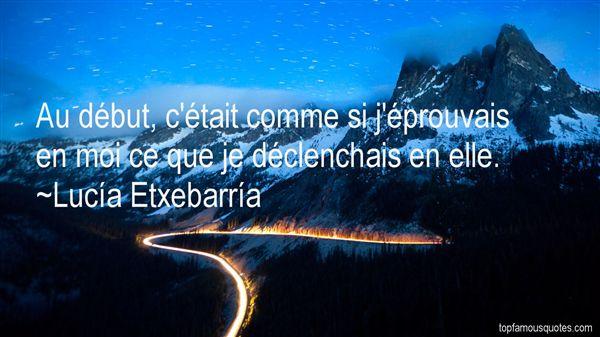 Lucía Etxebarría Quotes
