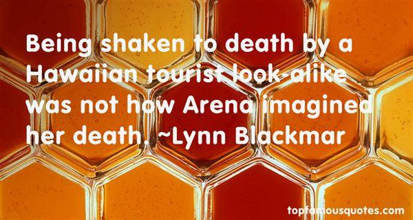 Lynn Blackmar Quotes