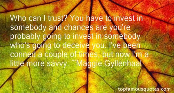 Maggie Gyllenhaal Quotes