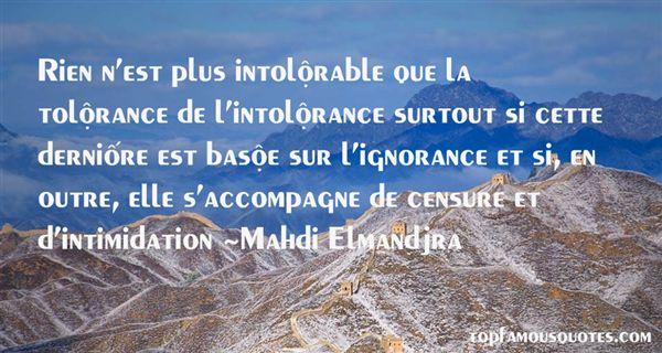 Mahdi Elmandjra Quotes