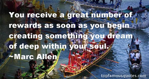 Marc Allen Quotes