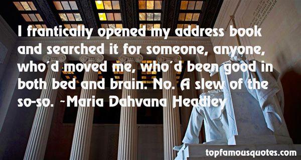 Maria Dahvana Headley Quotes