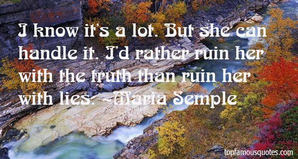 Maria Semple Quotes