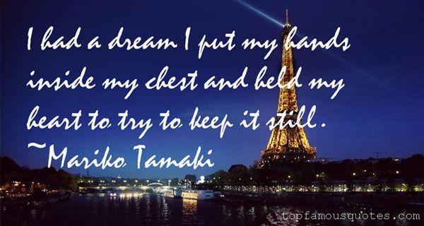 Mariko Tamaki Quotes