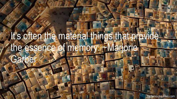 Marjorie Garber Quotes