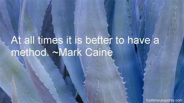 Mark Caine Quotes