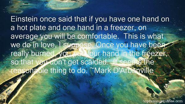 Mark D'Arbanville Quotes