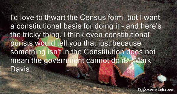 Mark Davis Quotes