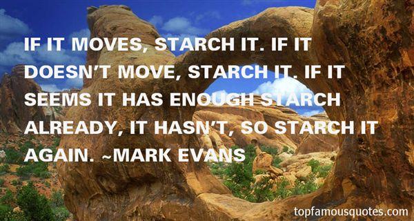 Mark Evans Quotes