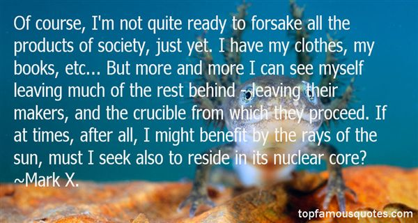 Mark X. Quotes