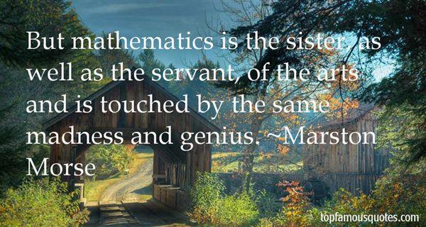 Marston Morse Quotes
