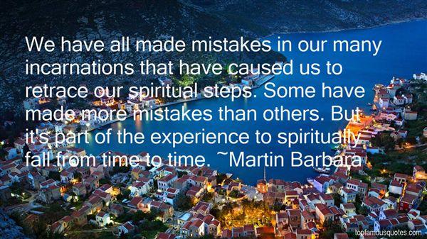 Martin Barbara Quotes