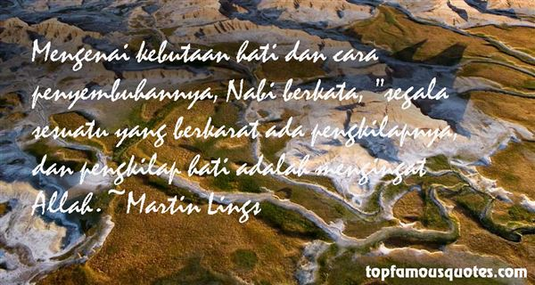Martin Lings Quotes